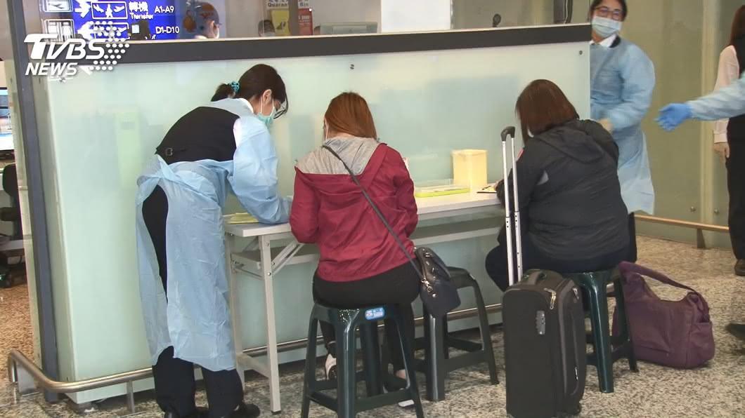 出入境示意圖,非本文當事人。(圖/TVBS資料畫面) 台灣一口氣「輸出19例」 醫:社區疑有潛在確診