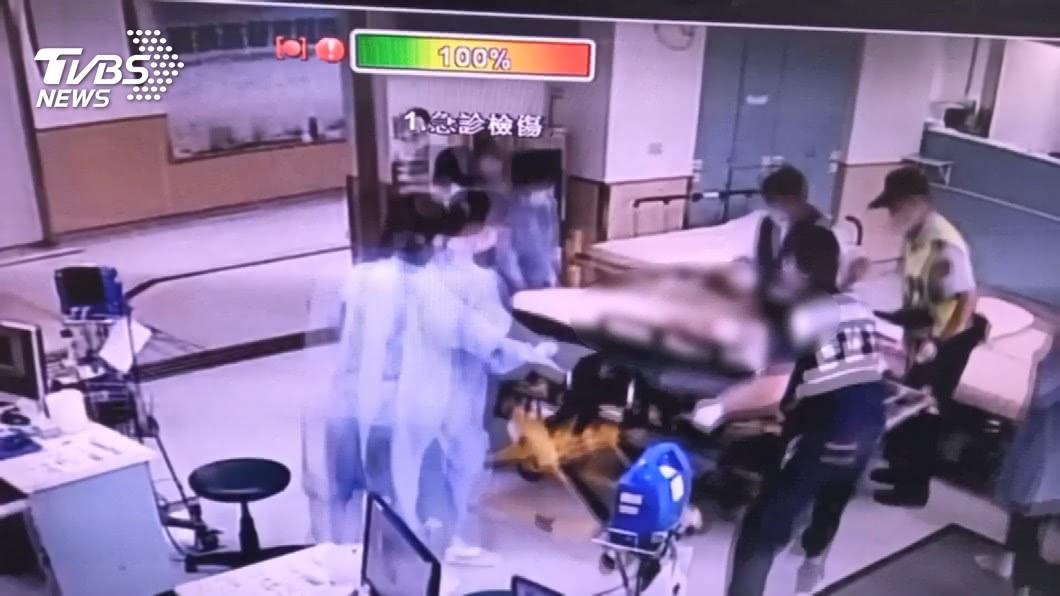 圖/TVBS 9歲童騎車載弟捲槽車底 2歲弟魂斷輪下