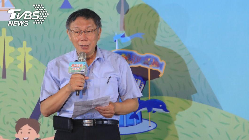 柯文哲表示台北捷運做得比新加坡好。(圖/中央社) 自豪北捷「做得比新加坡好」 柯文哲:滿意度高達95%