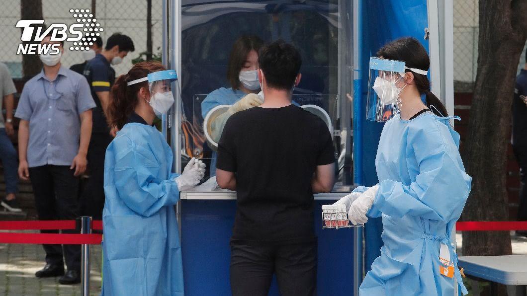 圖/達志影像美聯社 南韓今增288例 首爾市政廳、補習班出現個案