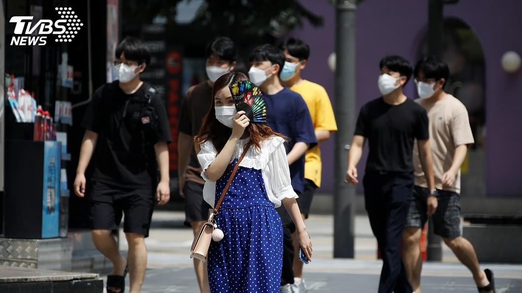 (圖/達志影像路透社) 韓國武漢肺炎增288例 單日確診連7天3位數成長