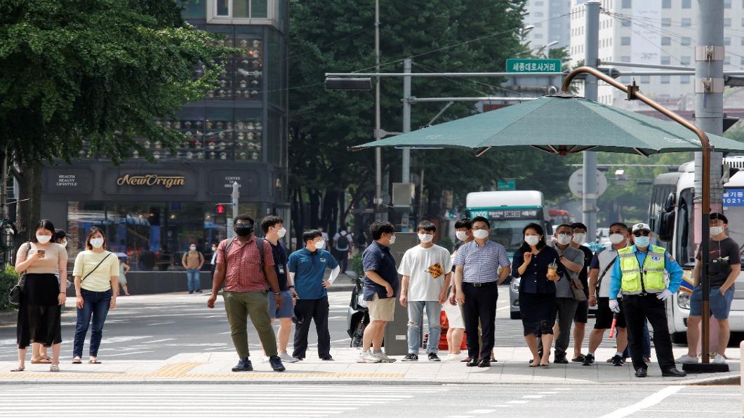 圖/達志影像路透 單日再增288例!韓教會病毒蔓延全國