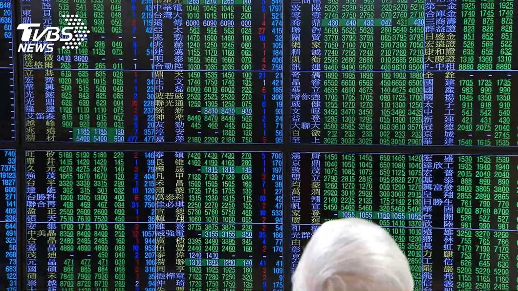 圖/TVBS資料畫面 快訊/台股跌逾300點收12264點 成交量8/21來最低