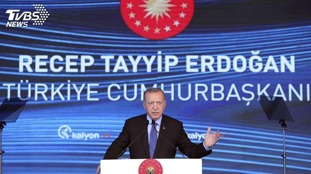 土耳其總統艾爾段。(圖/達志影像美聯社) 艾爾段預告宣布「好消息」 外界揣測黑海找到天然氣
