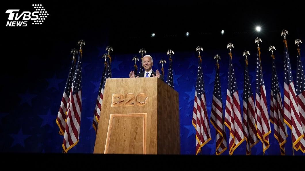 美國民主黨全代會今天進入重頭戲,前副總統拜登將正式接受提名。(圖/達志影像美聯社) 美國民主黨新黨綱 移除「一中政策」並挺香港自治