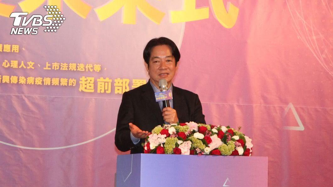 副總統賴清德。(圖/中央社) 賴清德:遵從指揮中心要求 防疫才能立於不敗