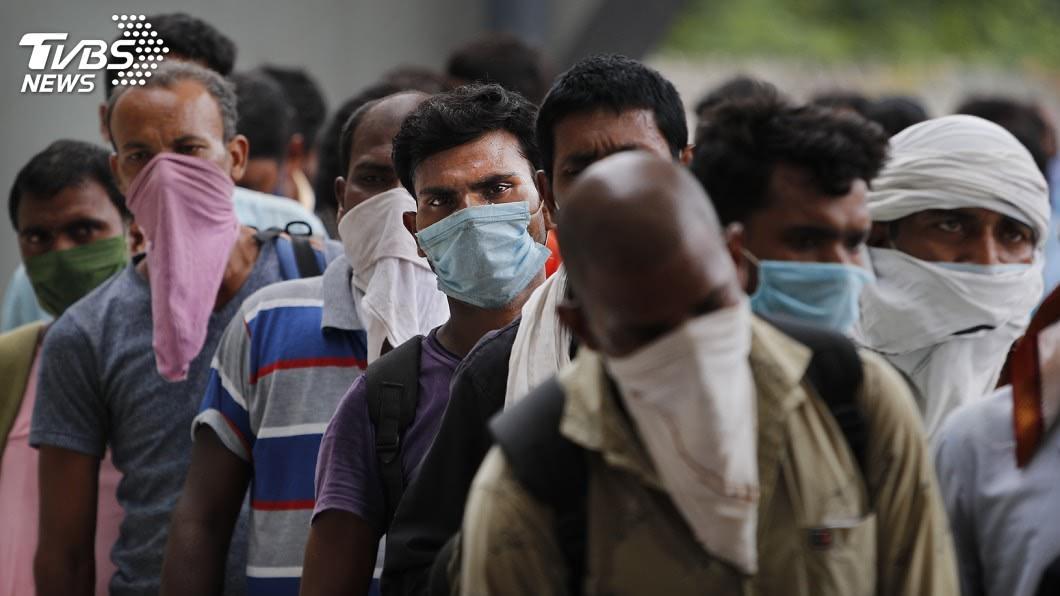 (圖/達志影像美聯社) 印度血清調查 新德里3成民眾感染過武漢肺炎