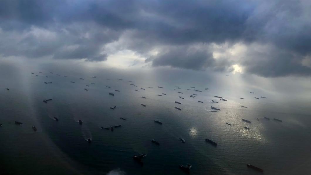 (圖/馬祖居民提供) 陸抽砂船氾濫 馬祖人士投書國際媒體盼能遏止