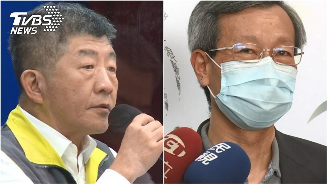 指揮中心指揮官陳時中(左)、彰化衛生局長葉彥伯(右)。(圖/TVBS資料畫面) 陷風波!葉彥伯落淚喊100%挺部長 陳時中回應了