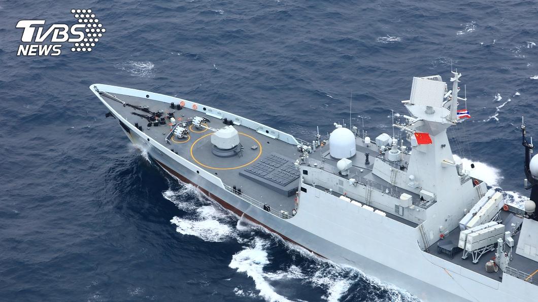 此為2019年中國與泰國聯合海軍演習畫面,與本事件無關。(示意圖/達志影像路透社) 再發警告! 解放軍連5日「大型實彈射擊」演習範圍曝光