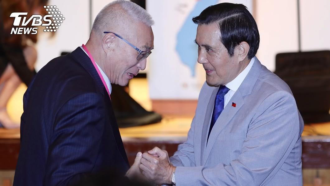 圖/中央社 傳國民黨拱馬英九回鍋選主席 吳敦義說話了