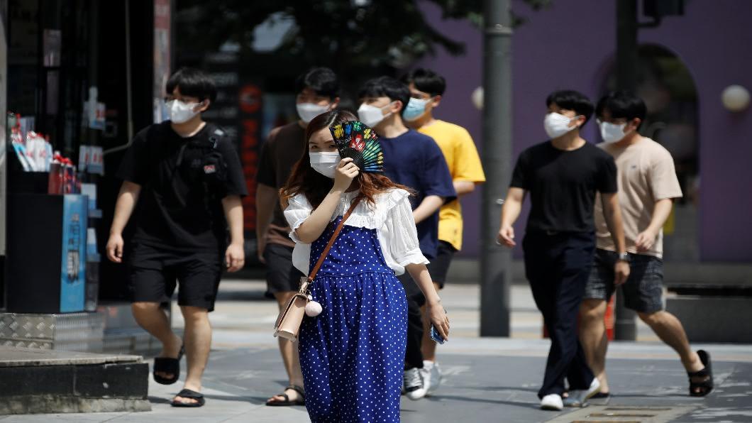圖/達志影像路透 考慮升至「三級防疫」!南韓首都圈先停課到9/11