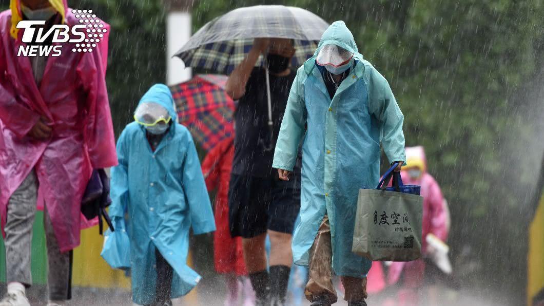 (示意圖/shutterstock 達志影像) 宜蘭頭城豪雨來襲 水利署發布「一級淹水警戒」