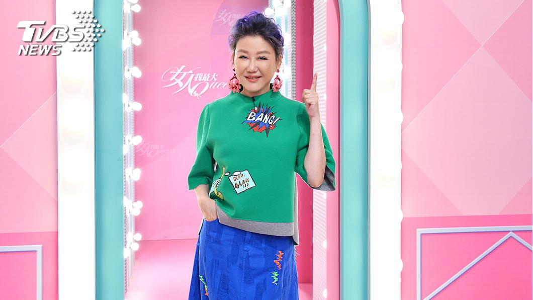 《女人我最大》主持人藍心湄入圍第55屆電視金鐘獎「生活風格節目主持人獎」。(圖/TVBS) 女力展現! TVBS詹怡宜 藍心湄 雙強入圍金鐘主持人
