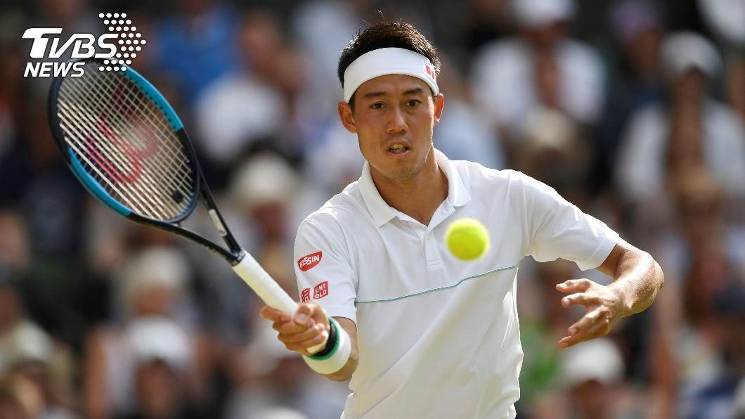 日本網球好手錦織圭今天退出月底登場的美國網球公開賽。(圖/達志影像路透社) 新冠肺炎病毒篩檢已呈陰性 錦織圭仍退出美網