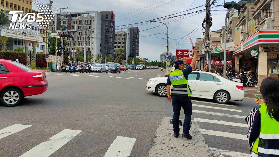 (圖/警方提供) 中市9月起交通大執法 10易肇事路口列重點