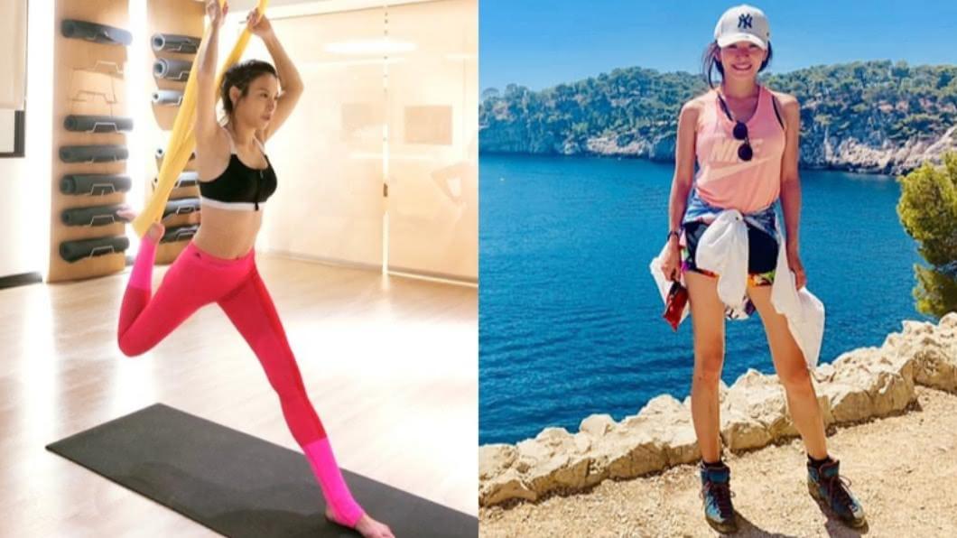 女星艾莉絲今年40歲,卻依然充滿少女感。(圖/翻攝自Facebook艾莉絲 X IRIS) 艾莉絲生2胎少女味不減 絕招曝:買小一號牛仔褲