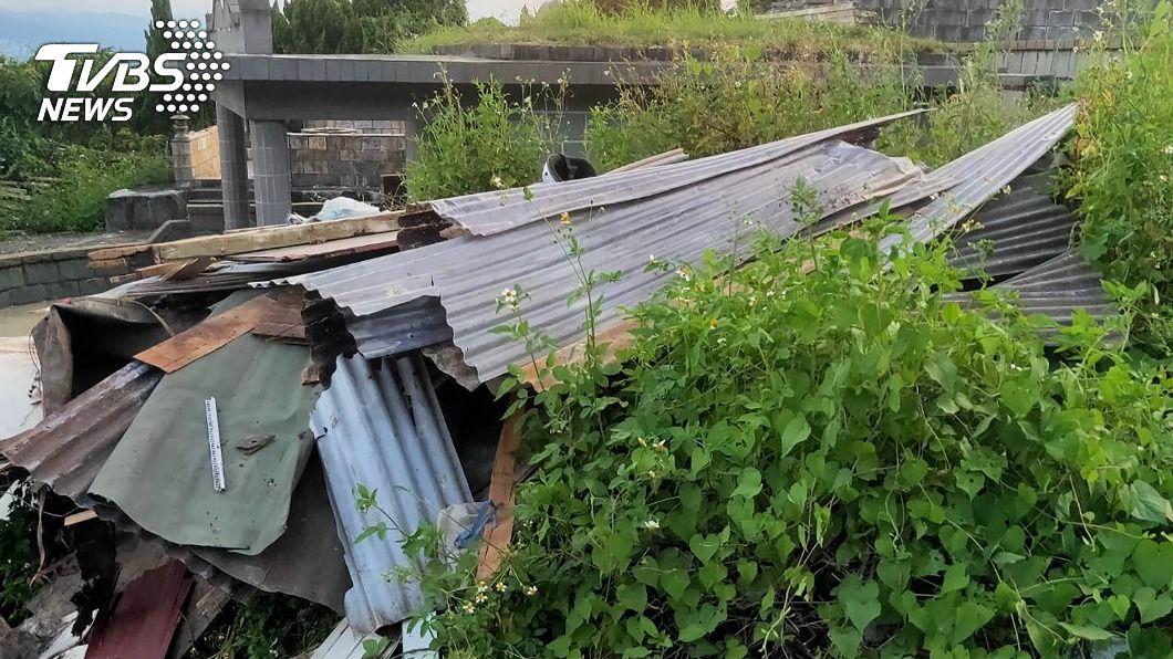 (圖/台北市環保局提供) 亂丟裝潢廢材被逮 北市環保局依法重罰