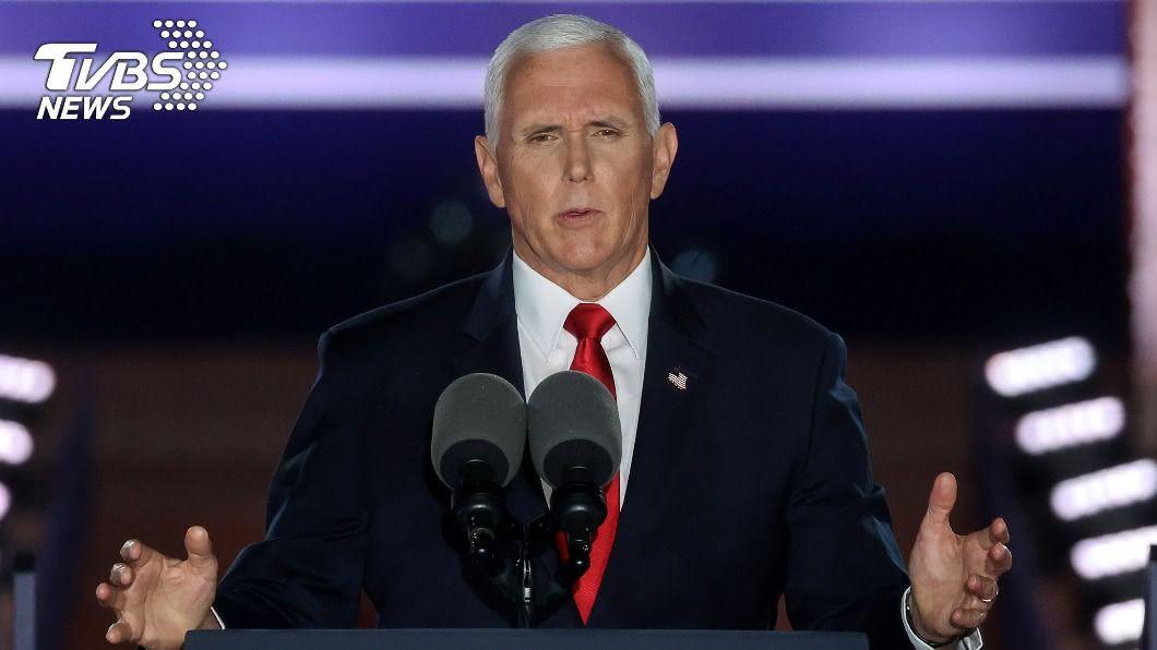 美國副總統彭斯(Mike Pence)。(圖/達志影像路透社) 台灣開放美牛美豬 多位重量級官員籲洽簽FTA