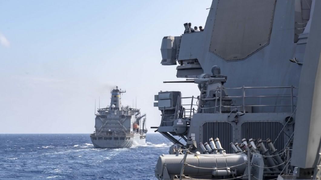 (圖/翻攝自U.S. 7th Fleet臉書) 中國向南海發射飛彈後 美驅逐艦駛入西沙海域