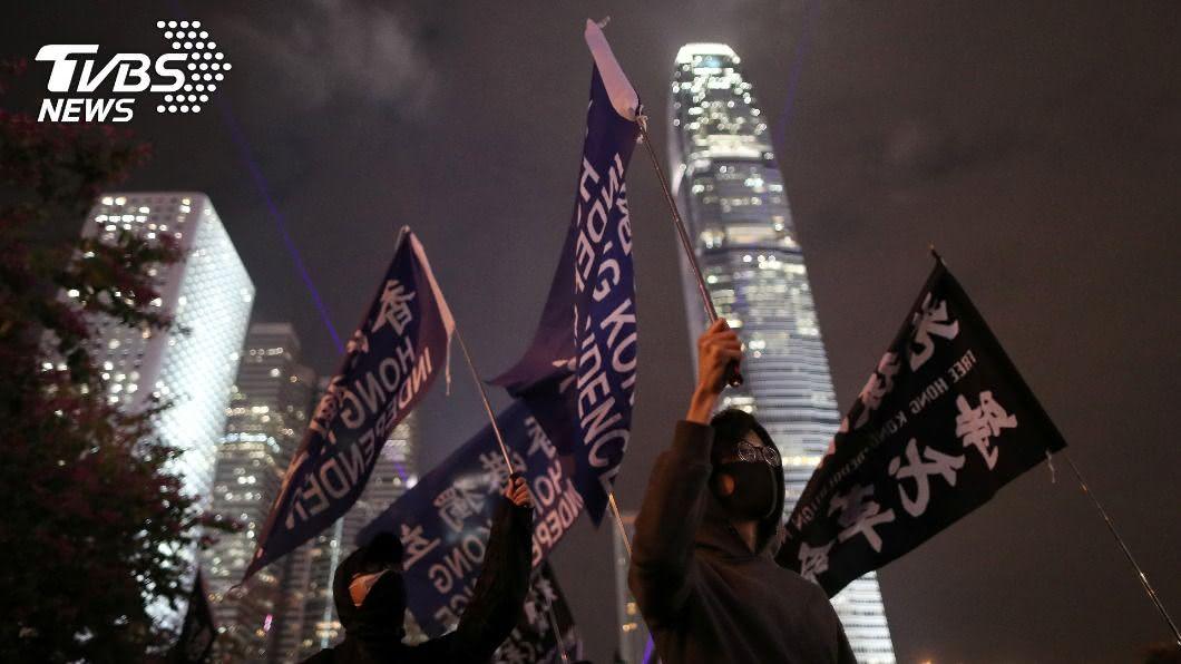 香港人反送中運動。(圖/達志影像路透社) 若香港人獲頒諾貝爾和平獎 王毅警告:勿政治化
