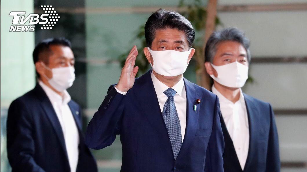 日本首相安倍晉三。(圖/達志影像路透社) NHK:安倍晉三健康惡化 擬辭首相