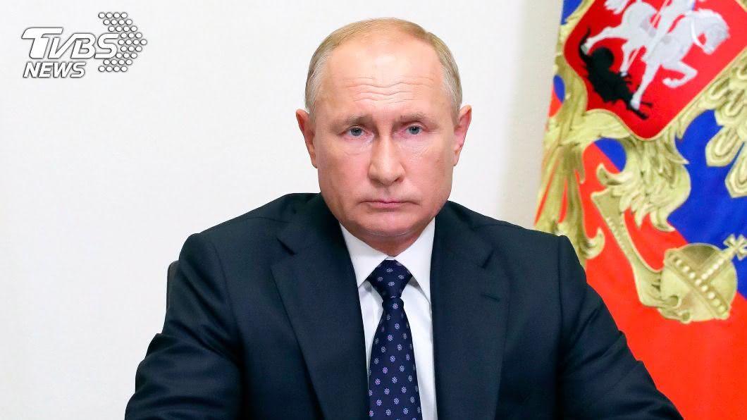 俄羅斯總統普欽對示威者發出警告。(圖/達志影像美聯社) 白俄選後動盪 普欽警告示威者別太超過