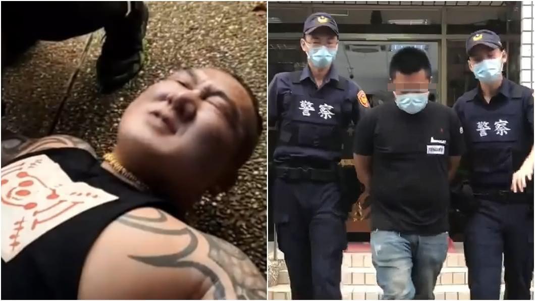 (圖/翻攝自館長臉書、TVBS) 爆兄弟指使館長凶嫌 同學起底「黑道背景」:國中有前科