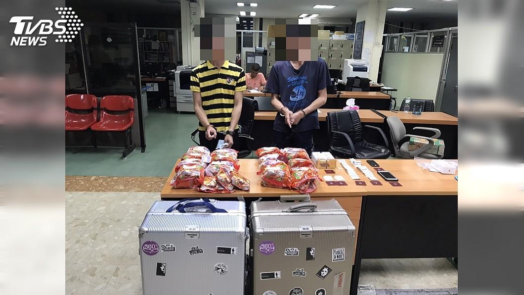 (圖/刑事局提供) 台泰警聯手破運毒案 2台灣人運15公斤毒品遭逮
