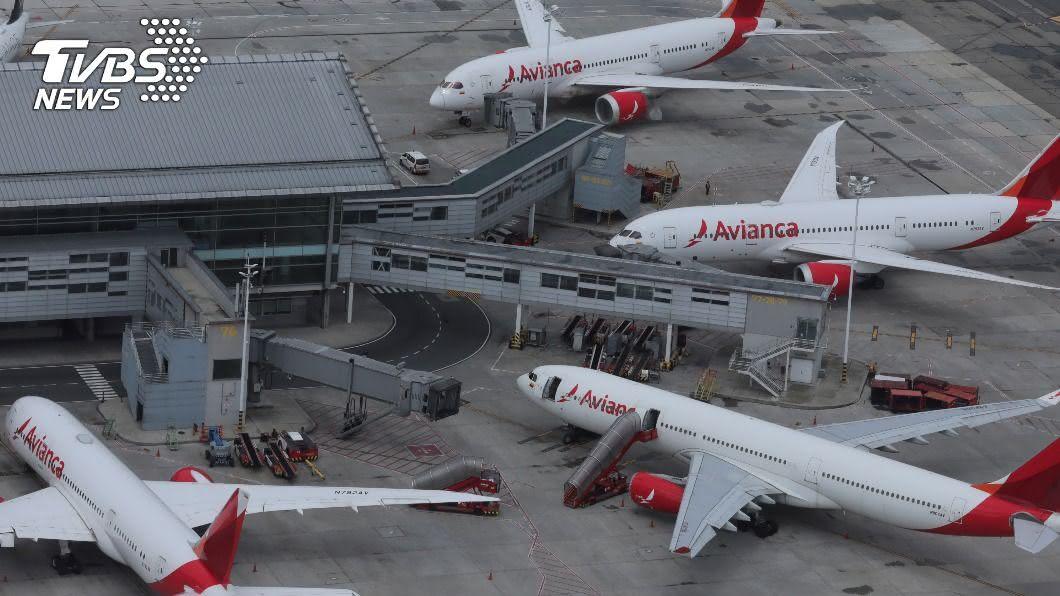 哥倫比亞航空公司整個機隊幾乎全都停飛。(圖/達志影像路透社) 疫情重創! 哥倫比亞航空獲紓困3.7億美元