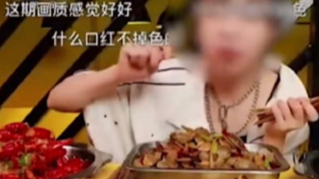 圖/翻攝自木头鱼 微博 一口氣狂吞大量美食 陸大胃王自爆都是假