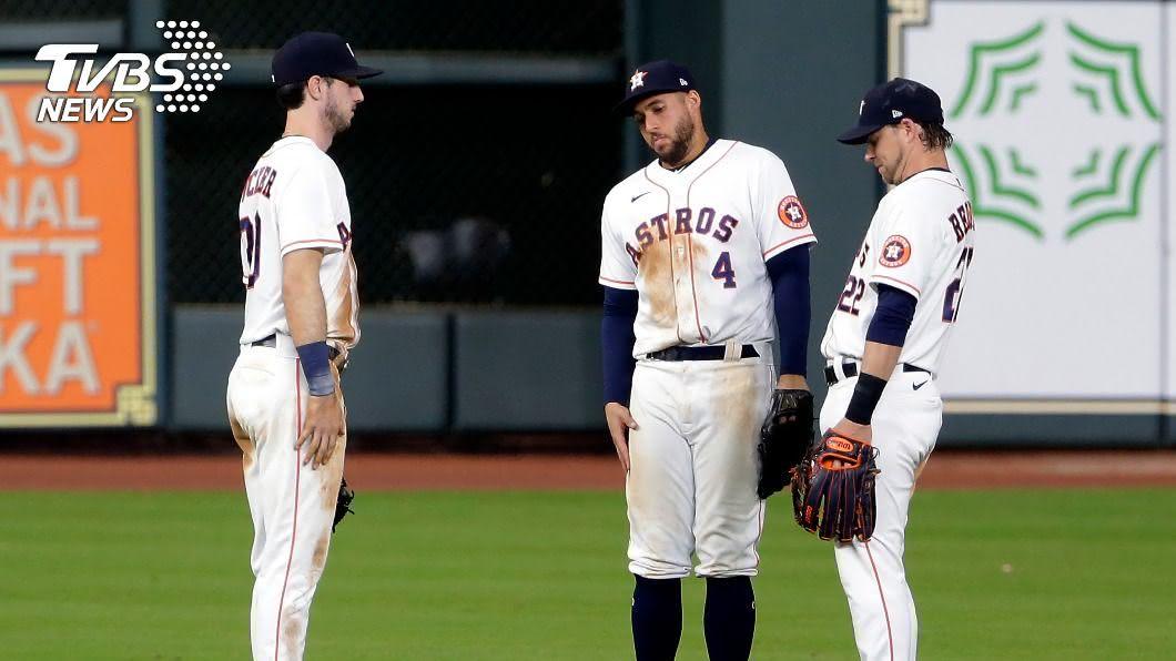 奧克蘭運動家團隊一名成員染上疫情,運動家預定客場迎戰休士頓太空人的比賽被迫延後舉辦。(圖/達志影像美聯社) MLB運動家成員確診新冠肺炎 對戰太空人賽事延後