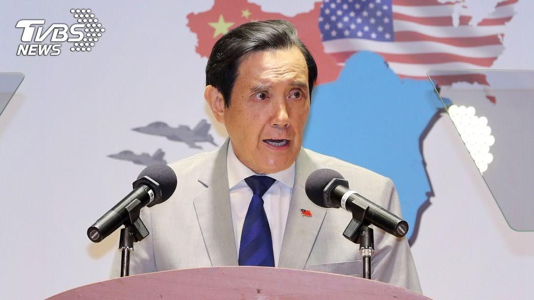 前總統馬英九。(圖/中央社) 放寬美豬牛進口 馬英九要求蔡英文鄭重道歉