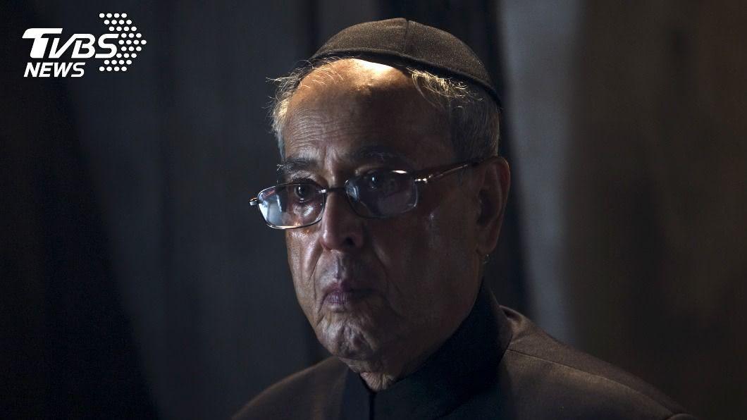 印度前總統穆克吉辭世,享壽84歲。(圖/達志影像路透社) 印度前總統穆克吉新冠肺炎重症辭世 享壽84歲