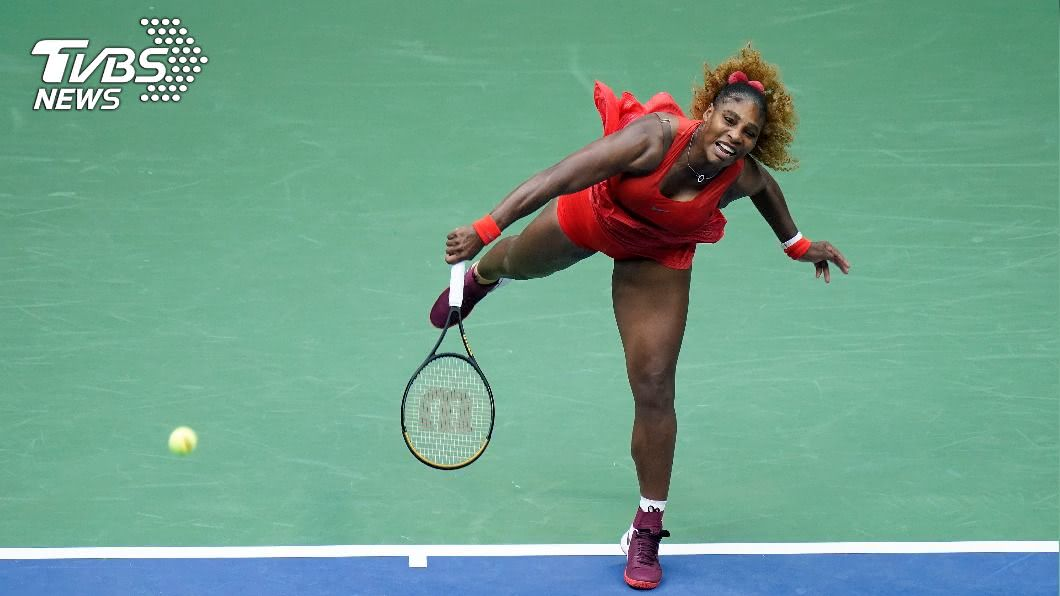 小威廉絲。(圖/達志影像美聯社) 美網女單開紅盤 小威拚大滿貫24冠有好的開始