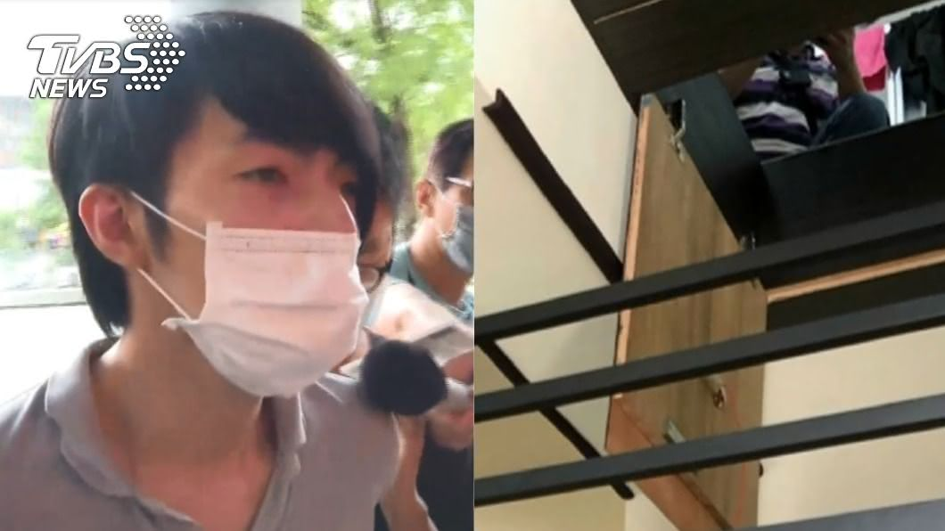 羅嫌傳出一度自招「隔衣磨蹭」少女。(圖/TVBS) 羅嫌認「隔衣」對少女做不雅動作!辦案警:不成傷驗不出