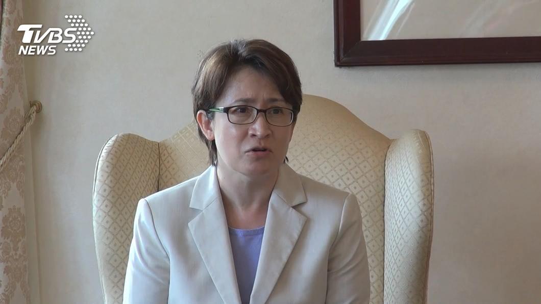 駐美代表蕭美琴。(圖/TVBS) 促台美雙邊貿易協定 蕭美琴:台灣已經準備好