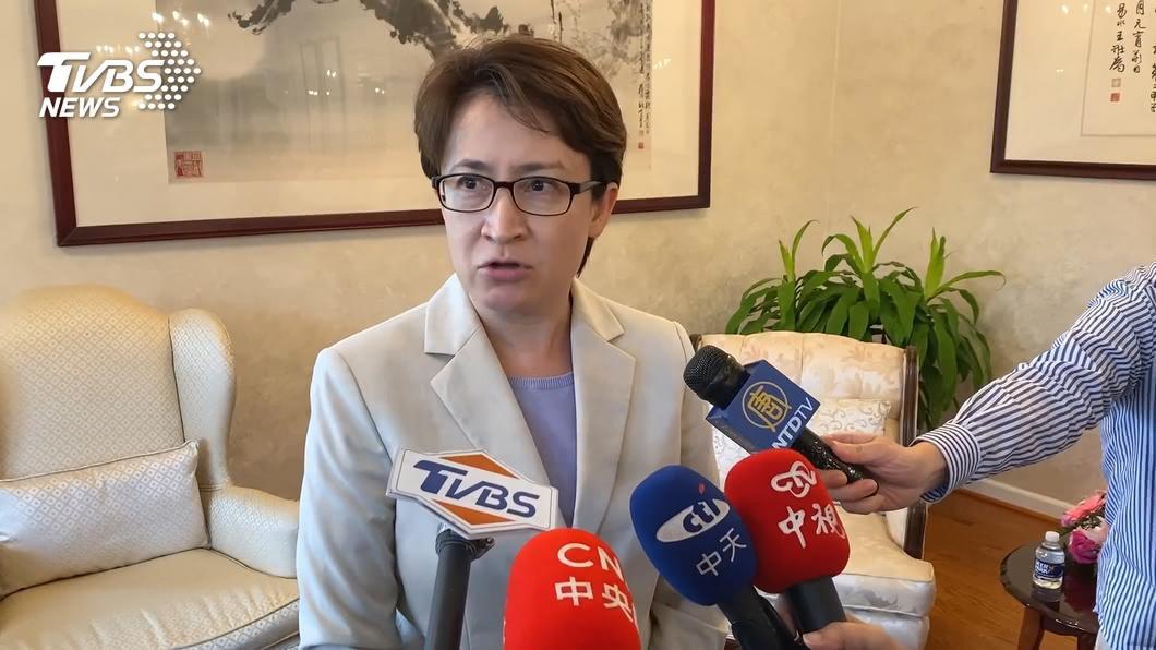 台灣NGO女性代表國際處境艱困,蕭美琴籲應給更好待遇。(圖/TVBS資料畫面) 台灣NGO女性代表國際發聲艱困 蕭美琴抱不平