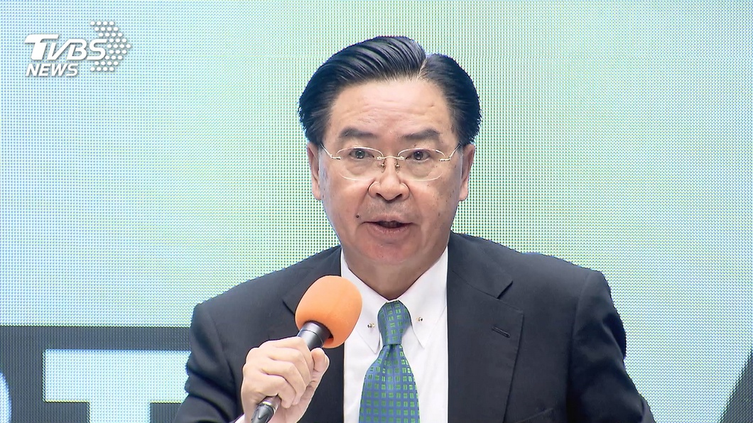 外交部長吳釗燮。(圖/TVBS) 「聯合國封鎖台灣為錯誤政策」 吳釗燮專文登荷媒