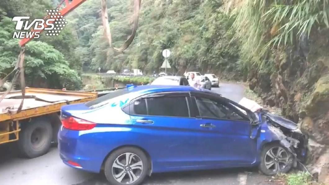 (圖/TVBS資料畫面) 女駕車遇落石撞山亡 家屬獲國賠859萬元確定