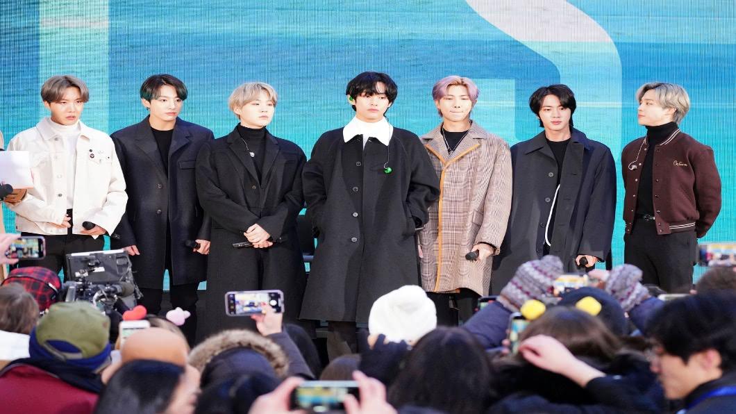 圖/達志影像美聯社 「世界彈」BTS!新歌登頂Billboard 破韓流紀錄