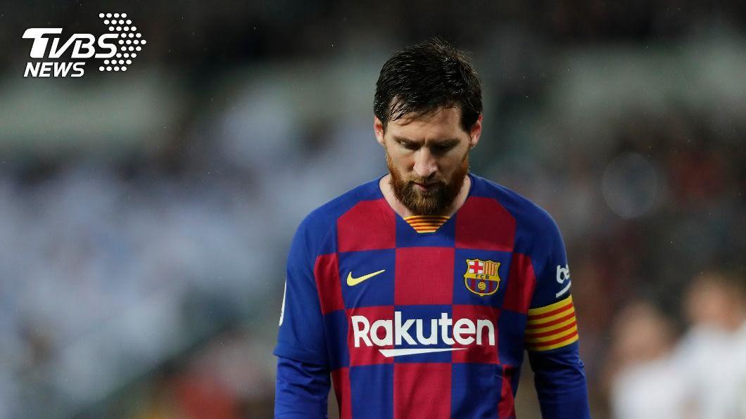 梅西離開巴塞隆納球隊。(圖/達志影像美聯社) 巴塞隆納主席候選人悲觀 梅西恐不會改變轉隊心意