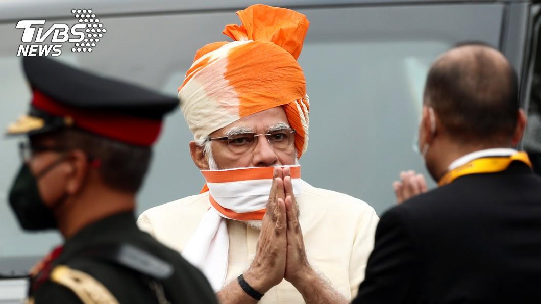 印度總理莫迪推特遭駭客入侵。(圖/達志影像路透社) 推特又傳駭客攻擊 印度總理莫迪帳號遭殃