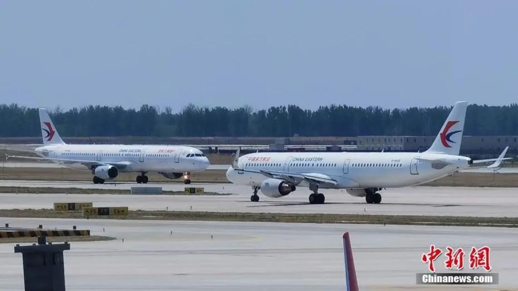 圖/翻攝自 中新網 中國大陸疫情趨緩 開放8國航班直飛北京