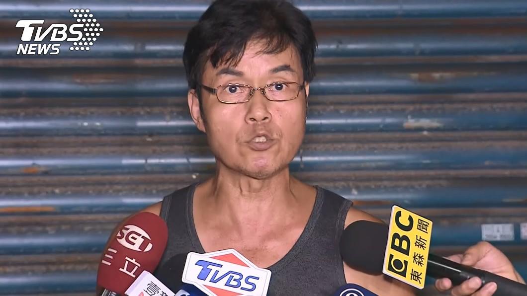 林明進怒批「以國家隊為恥」。(圖/TVBS) 我以國家隊為恥!加利老闆氣炸揭「遭政府威脅欺騙」內幕