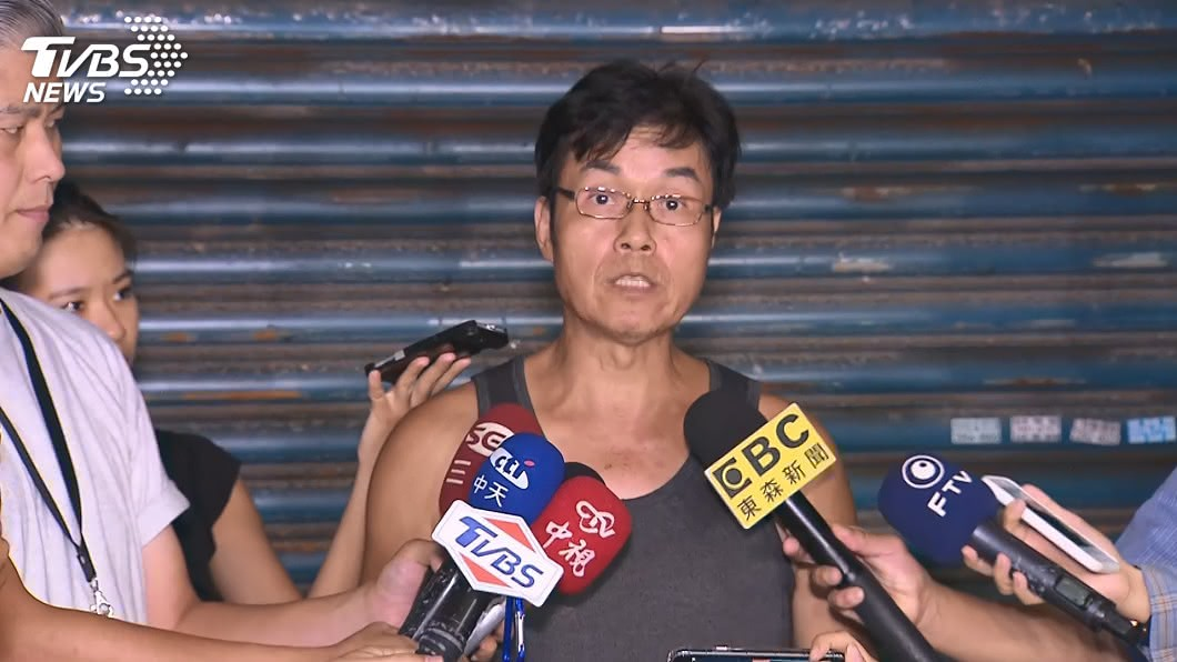 加利公司負責人林明進。(圖/TVBS) 加利老闆嗆快踢出國家隊 經部:有藥證就要被徵用