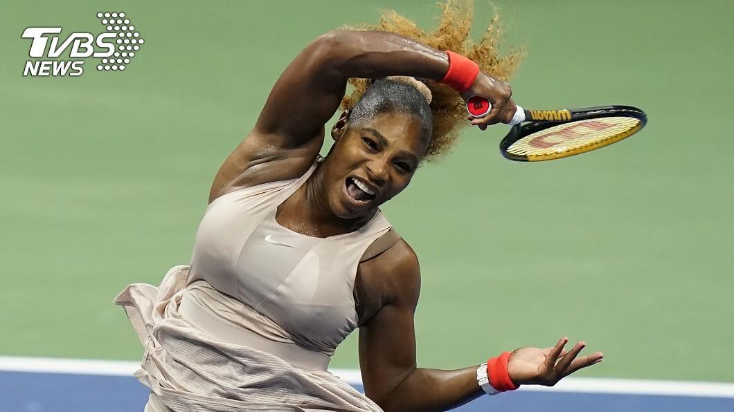 美網女將小威廉斯成功晉級公開賽第3輪。(圖/達志影像美聯社) 小威輕騎過關 闖進美國網球公開賽第3輪