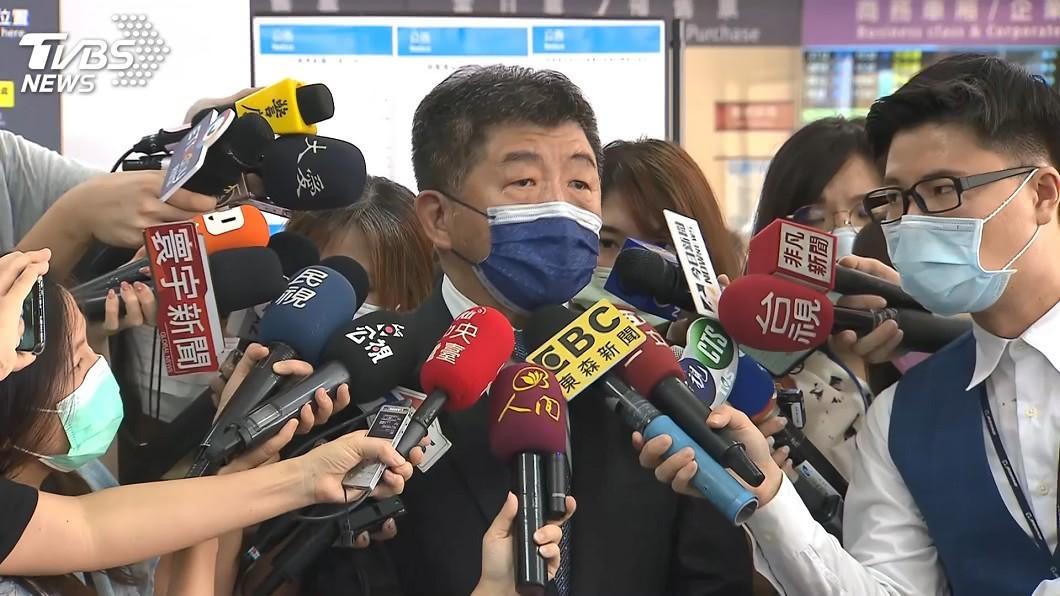 疫情指揮中心指揮官陳時中。(圖/TVBS) 加利指控政府壓榨 陳時中:早給口罩交貨緩衝期