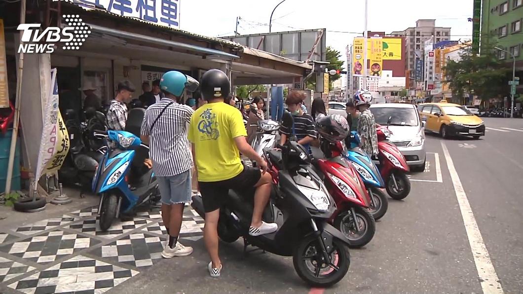 圖/TVBS 瞄準花蓮租車市場 共享機車進駐搶商機