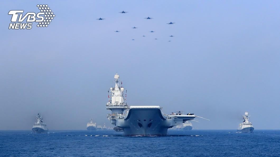 日媒稱台國防部披露陸南海艦隊接近第三島鏈。(圖/達志影像路透社) 日媒:台國防部指共軍艦隊首度接近夏威夷